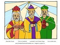 Three Wise Men Bible Lessons