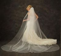 Dramatic Cathedral wedding Veil - custom made to order! For hundreds of fabulous veils, click here: http://www.affordableelegancebridal.com/bridal-veils.html