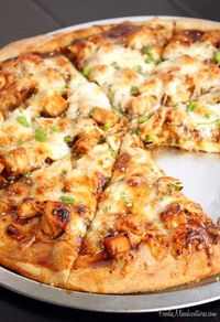 Asian Chicken Pizza   The Marvelous Misadventures of a Foodie