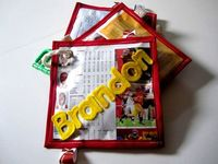 Baby Newspaper Sports Football Los Angeles USC by MiniMePapers, $25.00
