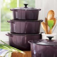 Deep purple cookware