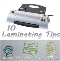 How to use a Laminator