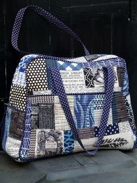 Quilted Weekender Bag by Laura