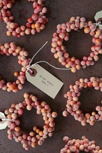 Mini Frosted Wreaths