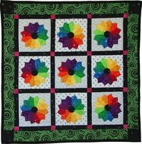 , Osage County Quilt Factory - Fabric Color Wheel Quilt Pattern