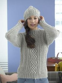 free cable knit pattern