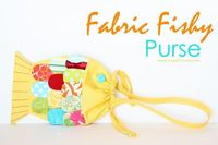 Fabric Fishy Purse