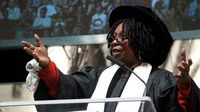 Whoopi Goldberg delivers 2011 commencement address and heralds SCAD on 'The View'
