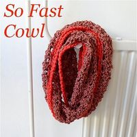 Ravelry: So Fast Cowl pattern by A la Sascha