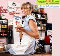 love that she makes the gluten/dairy/egg free stuff and does not look like a granola person - she looks cool and edgy