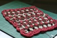 Buds and Blossoms Dishcloth - free crochet pattern